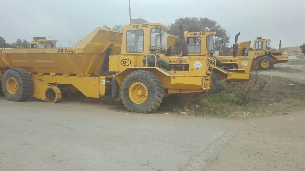 Onsite At Myezo Offices Or Tambo House Plant & Machinery Auction (June 2017)