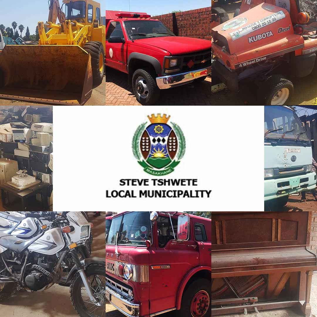 Steve Tshwete Municipality Auction (3 Day Auction: 21 Feb, 26 Feb, 28 Feb)